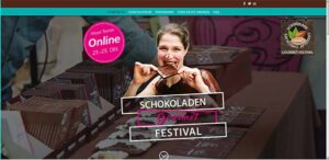 Abbildung der Startseite Schokoladen-Gourmet-Festival